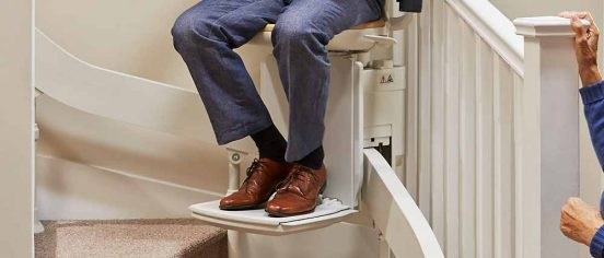 Curved Stairlift Option