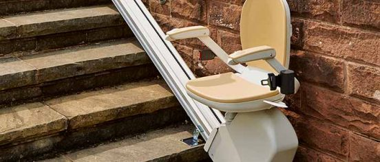 Outdoors Stairlift