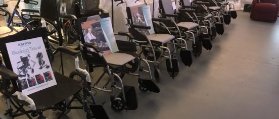 wheelchair showroom